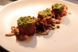 Tuna Tartare Autumn